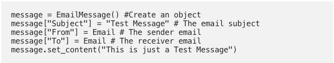 Sending Bulk of Emails Using Python and Gmail